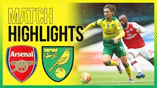 HIGHLIGHTS | Arsenal 4-0 Norwich City
