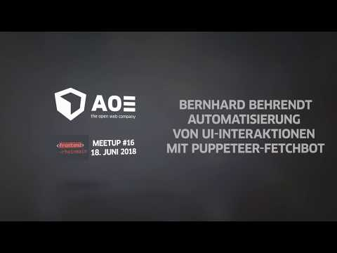 Fetchbot introduction in german