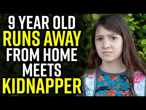 9 Year Old RUNS AWAY From Home.