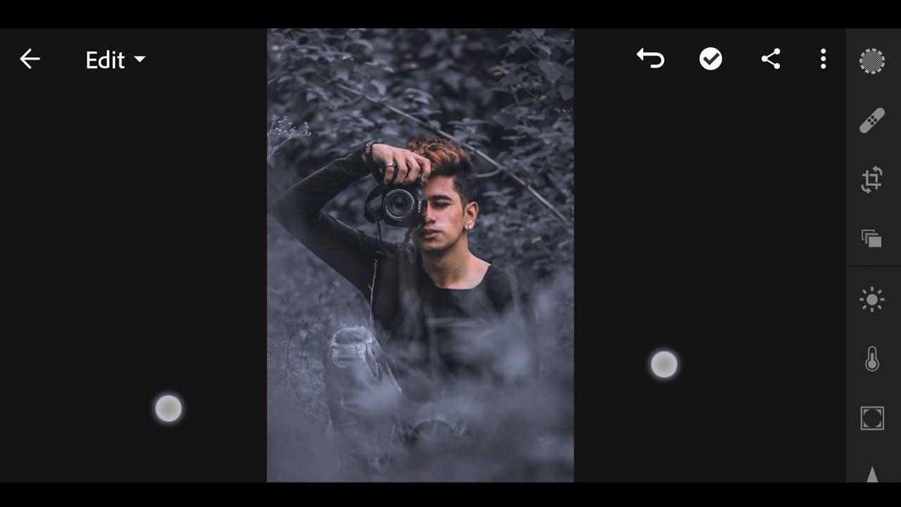 dark moody adobe lightroom editing by raghav editz