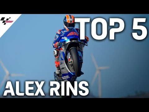 スズキのアレックス・リンスが見せた2020MotoGPレース中の名シーンベスト5をまとめたハイライト動画