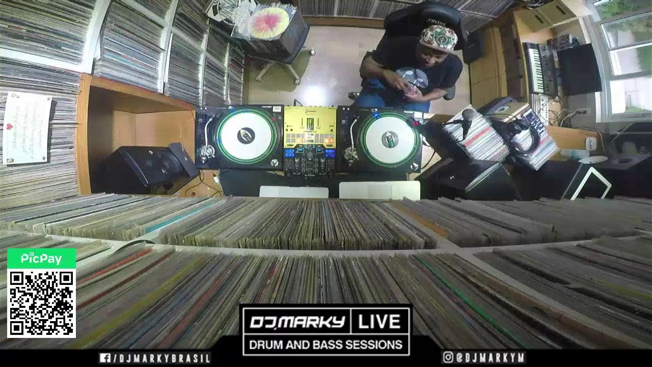 DJ Marky - Live @ Home x Drum And Bass Sessions [03.04.2021]