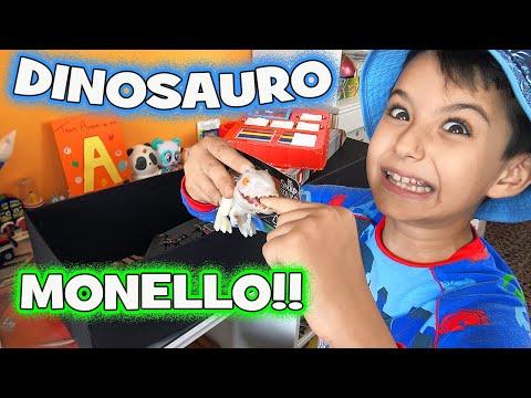 DINOSAURO MONELLO!!! A scuola con i DINOSAURI Baby DINO Jurassic World (Unboxing) - Giochi bambini