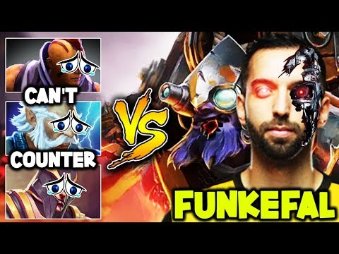 The Man With The Inhuman Plays And Destroyed Counters Funkefal Tinker Dota 2