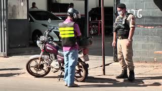 Polícia Militar intensifica fiscalização de motociclistas