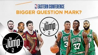 Eastern Conference finals preview: Bigger question mark, dominance, gimmicks | The Jump | ESPN