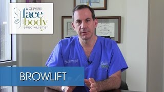 Dr. Clevens explains a Brow Lift and Forehead Lift procedures