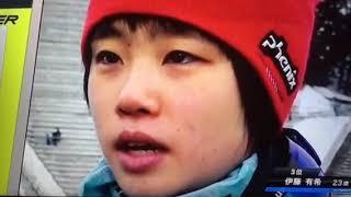 女子ジャンプWカップ、オスロ伊藤有希選手インタビュー