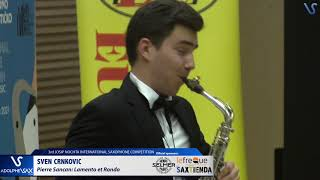 Sven Crnkovic plays Lamento et Rondó by Pierre Sancan