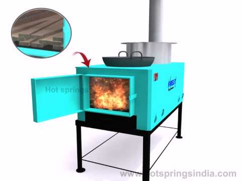 Wood Fired Single Cooking Stove