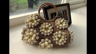 How to crochet purse bag for woman free pattern