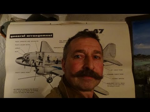 US Militärflugzeuge der 50er Jahre Teil 3 C-47 Dakota