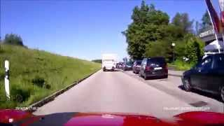 preview picture of video 'Villach to Munich 17 August 2014 (Rollei CarDVR-110)'