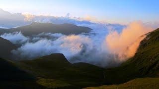 Evening clouds above, In the mountains – kalotana arkhoti კალოთანა არხოტი