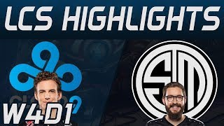 C9 vs TSM Highlights LCS Spring 2020 W4D1 Cloud9 vs Team Solo Mid LCS Highlights 2020 by Onivia