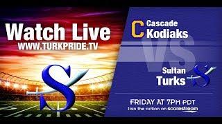 Turk Football - Sultan vs Cascade