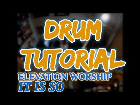 It Is So - Elevation Worship - Midnight EP drum cover by SalArteagaDrums