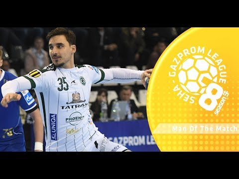 Man of the match: Bruno Butorac (Tatran Presov vs Zeleznicar 1949)
