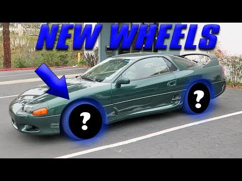 MITSUBISHI 3000GT VR-4 GETS NEW WHEELS (+ DATSUN TRUCK UPDATE!)