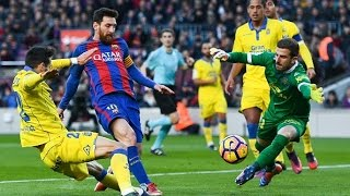 Lionel Messi Goal  Barcelona vs Las Palmas 14/1/2017 HD