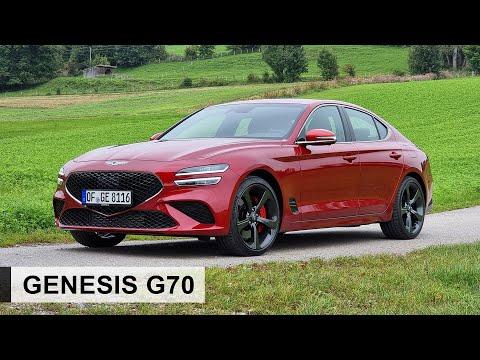 Erste Fahrt im 2022 Genesis G70!: Unschlagbar in seiner Klasse? - Review, Fahrbericht, Test