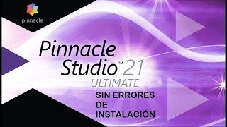 P1nnacl3 Studi0 Ultimat3 21 - Instalar Sin Errores De Inicio