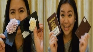 preview picture of video 'What's in my Travel Bag l LittleMsEms'