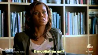"Castle 8x14 ""The G.D.S"" Sneak Peek #2 (VostFr)"