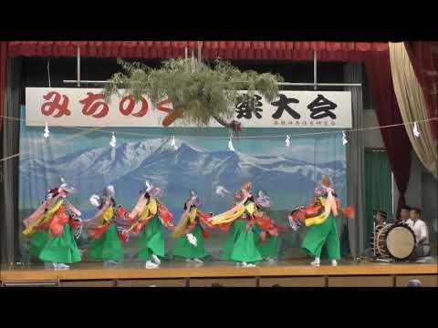 築館小学校鶏舞