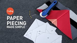 Paper Piecing Made Simple | Quilting Tutorial With Angela Walters