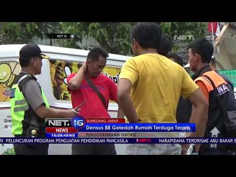 Penggerebekan Rumah Teroris di Sumedang - NET16