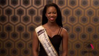 Introduction Video of Ntombikayise Msimango Miss South Africa 2017 Contestant from Johannesburg, Gauteng