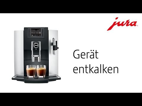 JURA E8 - Gerät entkalken