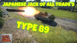 War Thunder: Type 89 - Japanese Jack Of All Trade's || RB Gameplay