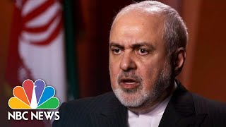 Iran's FM Mohammad Javad Zarif: 'We Were Very Close To A War' | NBC News