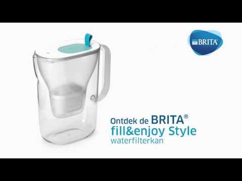 Brita Waterfilterkan Style Cool lime + 3 Maxtra+ Patronen