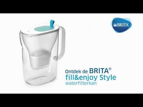 Brita Waterfilterkan Style Cool Blauw 2,4l
