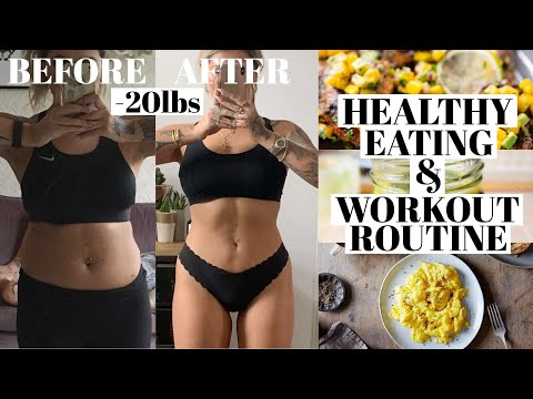 WHAT I EAT IN A DAY & WORK OUT ROUTINE | JAMIE GENEVIEVE
