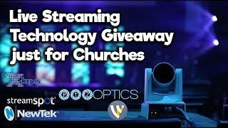 Live Stream Church Services