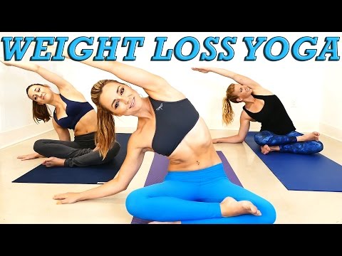 Yoga Weight Loss Challenge! 20 Minute Fat Burning Yoga Workout Beginners & Intermediate