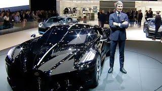 Bugatti at the Geneva Motor Show 2019, La Voiture Noire Presentation, Bugatti GIMS 2019