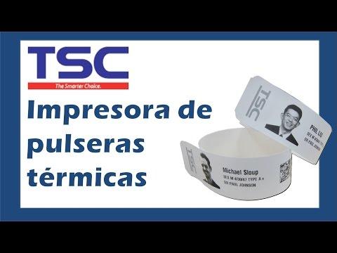 Impresora de Brazaletes y Pulseras Térmicas TSC Printers
