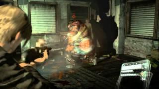 Resident Evil 6 Walkthrough (Leon Campaign) Pt. 6 - Ahhh A FAT MAN!