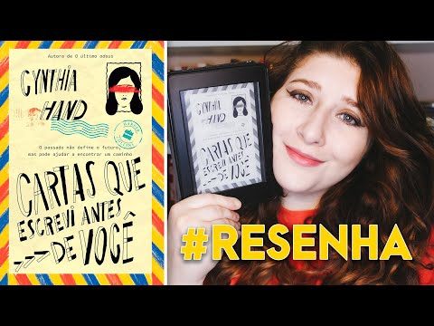 Cartas Que Escrevi Antes de Você - Cynthia Hand | Pausa Para Um Café