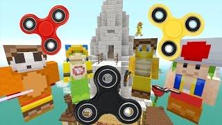 Minecraft Wii U - Nintendo Fun House - Bowser Jr is Fidget Spinner Man! [74]