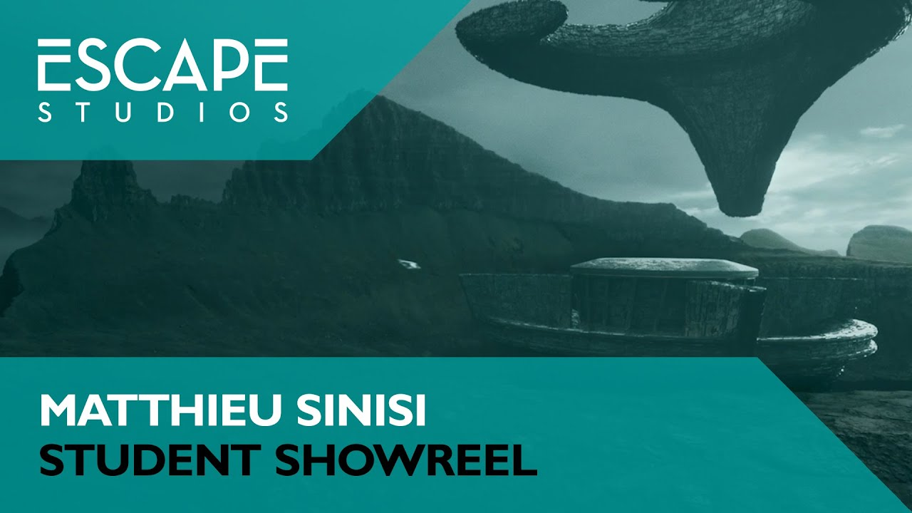 Escapee Showreels - Matthieu Sinisi