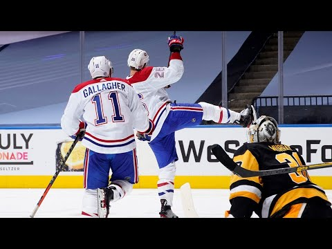 Montreal Canadiens DEFEAT The Pittsburgh Penguins! | Playoffs | 2019-20 (HD)