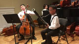 (HD)G.Handel Sonata for cello and bassoon op.2 no.8 3rd movement