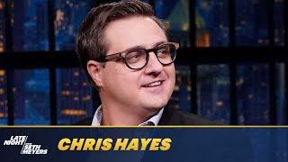 Chris Hayes Says Social Media Is Wreaking Psychological Havoc on People