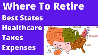 🔴Where to Retire Best States For Retirement